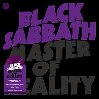 Master Of Reality (Purple vinyl + Poster)