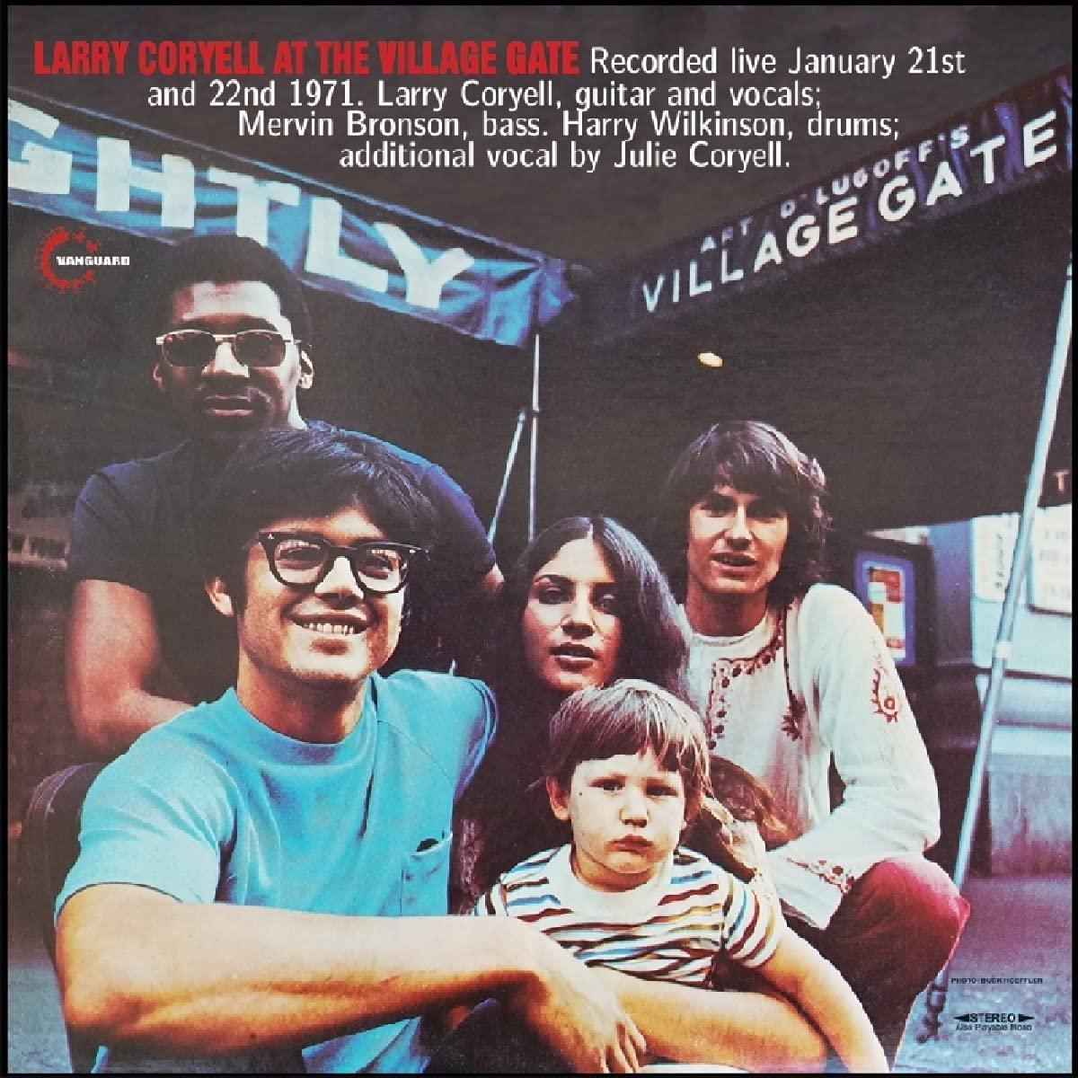 At The Village Gate (Split Blue Vinyl)