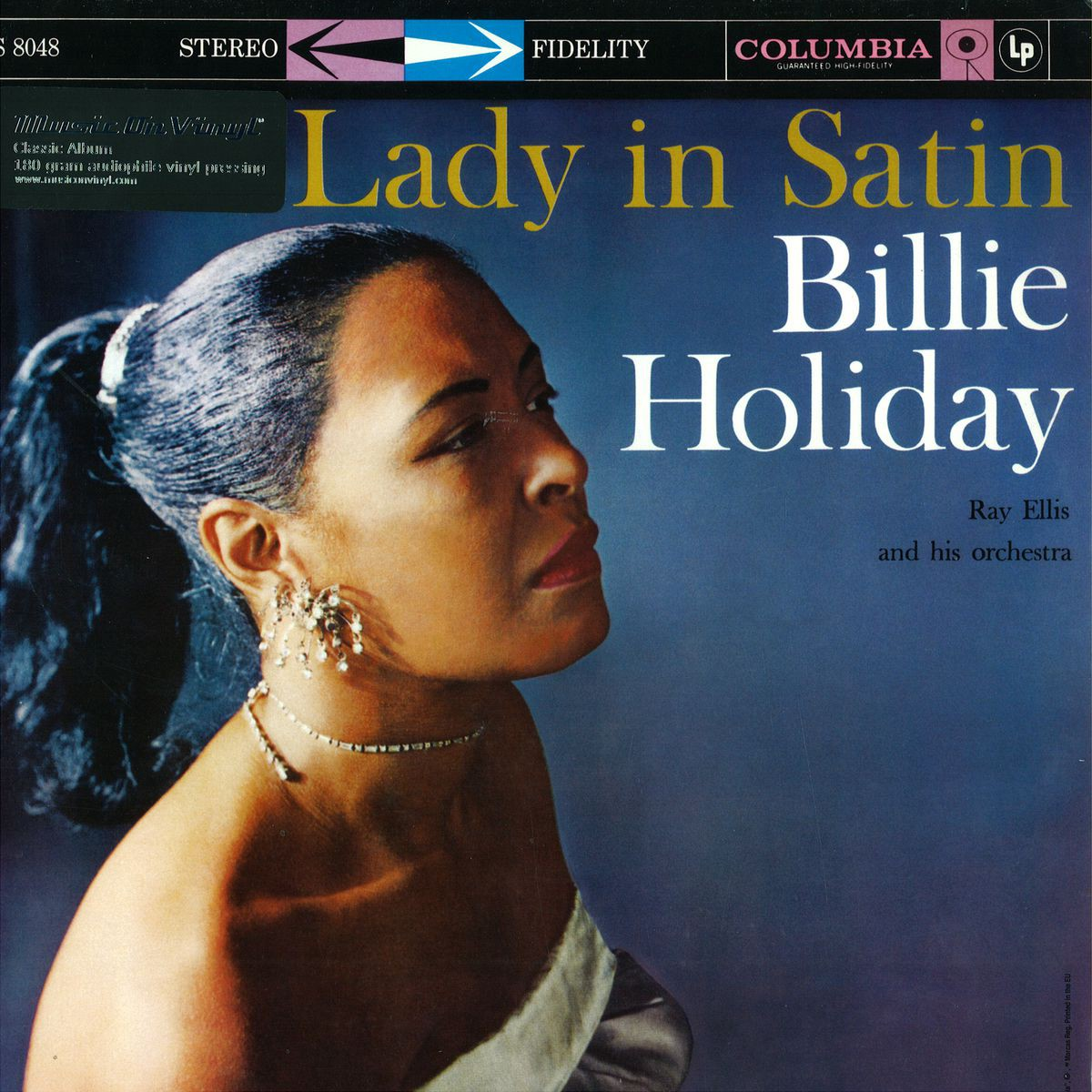 Lady In Satin (blue vinyl) Nad 2021